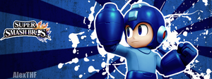 Megaman - Facebook Cover by AlexTHF