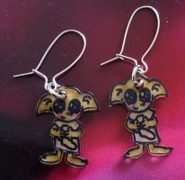 Kawaii Dobby earrings by Lovelyruthie