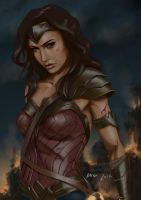 Diana, Princess of Themyscira by themimig