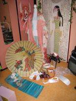 Ingredients of a Kimono by e-Sidera