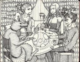 Tea Party by TemLin
