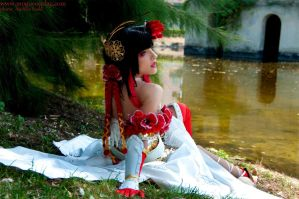 Yu Meiren - Dynasty Warriors by drummerina