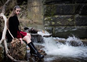 My first photo shoot with a model by savingmysanity