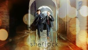 Sherlock - Running Wallpaper by draft624