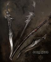 Haarhus weapons - for Disciples 3: Renaissance by Painthound