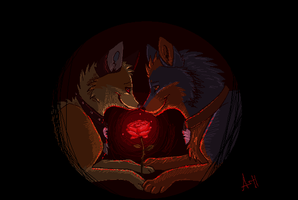 Like Red on a Rose by VengefulSpirits