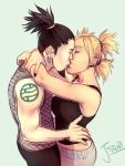 Shikamaru and Temari Kissin by Jazzie560