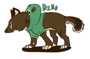 Point Auction Adoptable: Dino by Bakerize