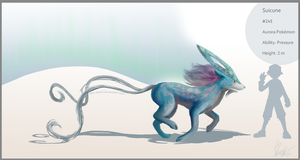 Realistic Suicune? by Nin-Wolf