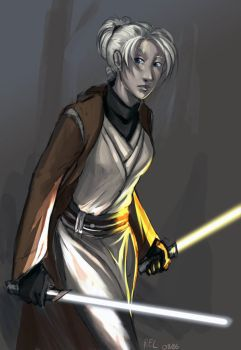 Star Wars:KotOR2 - Exile by aora