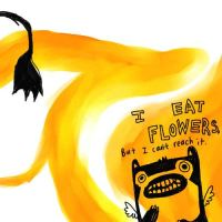 i eat flowers but cant reach by frogboychickenrice