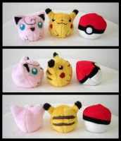 Pokebeanie fail thingies by Sariti