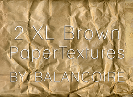 XL Brown paper texture by Balancoire
