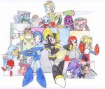 Megaman and Bass 2 by yoshiky