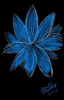 Blue Flower by emobear