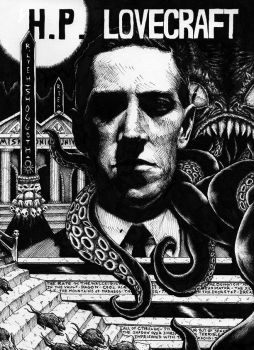 H.P. Lovecraft by magnetic-eye