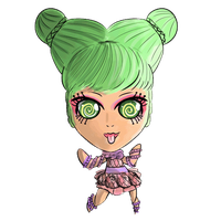 Scared Silly Inner Monster (animated) by bunnidolls
