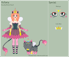 UT - Victoria Reference Sheet by porcelian-doll