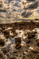 Rockpool Reflections by marklewisphotography