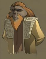Dr. Zaius by BrianMainolfi