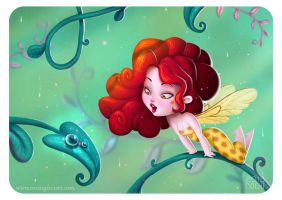 Rainforest by RocioGarciaART