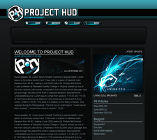 Project Hud Site Design by Axeraider70