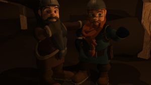 Dwarves - Red and Black by Morgoth883