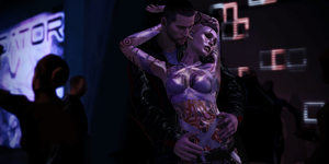 Dance the night away - ME2/ME3 merged version by Nightfable