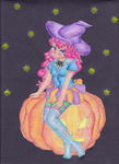 The Pumpkin Witch by elphaba-rose-wilde