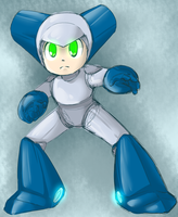 Robotboy (megaman style) by thegreatrouge