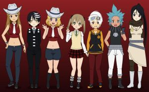Kisekae 2 Styled Soul Eater by Kitty-McGeeky97