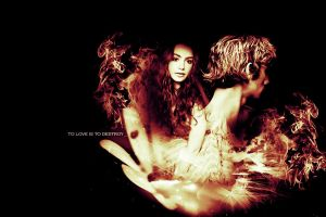 Jace + Clary - Destroy v.2 by ParalyzingLove