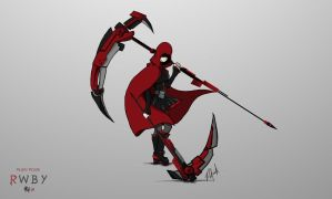 RWBY - Double Crescent Rose 2 by patgarci
