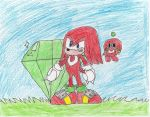 Knuckles, The Protector by Kayoken