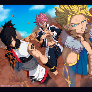 Fairy Tail 405 - The children of dragons by hyugasosby