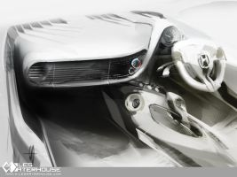 Honda insight IP + console by slime-unit
