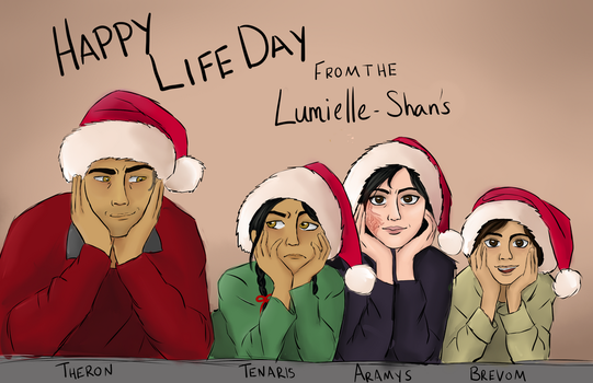 Happy Life Day by AdmiralBirdpants
