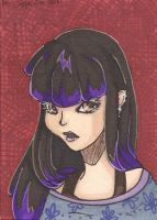ACEO - Purple Day by MsCappuccino