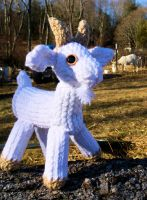 Loom Knitted Goat by ScarlettRoyale