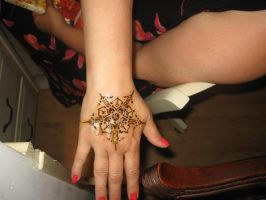 5 Pointed Henna Mandala by Sesshie32