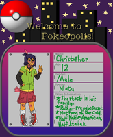 Pokeopolis: Christopher by AngeltheDeranged