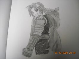 Best drawing of Ed Elric by StaticFOOL100