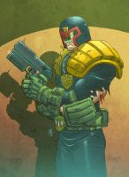 Judge Dredd by DylanTeague