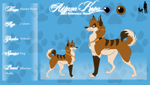 Aiyana-Kopa Reference Sheet 2013 by Aiyana-Kopa