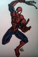 Spiderman by dark-es-will