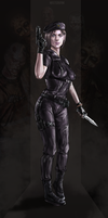Jill Valentine by Mister69M