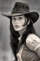Cowgirl by abclic