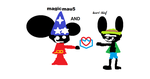 magicmau5 meets heart thief by Deadmau5Nstuff