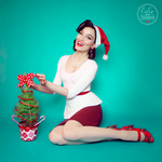 Merry Pin-Up Christmas! by black0widow