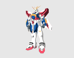 PS training - God Gundam by conquer001